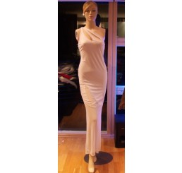 LONG DRESS FROM PANACHE-WHITE-Size 10-12