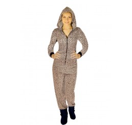 LEOPARD PRINT ONESIE AVAILABLE IN S, M , L