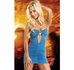 BLUE TEASE MINI DRESS - Size 8-10